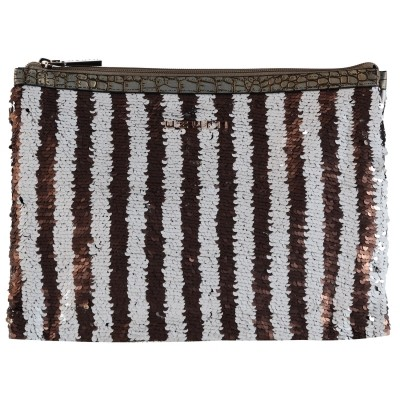 Picture of UZURII CLUTCH TAUPE women bag taupe