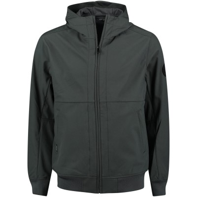 Picture of Airforce HR81M0248 men jacket gray