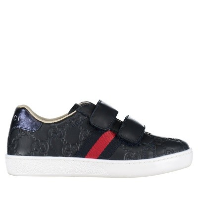 Picture of Gucci 455448 DF720 kids sneakers navy