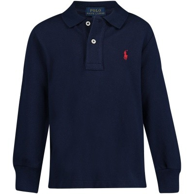 Picture of Ralph Lauren 321703634 kids polo shirt navy