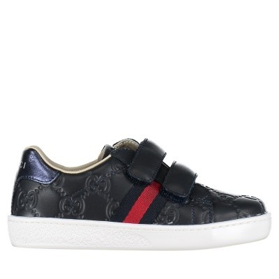 Picture of Gucci 455447 DF720 kids sneakers navy