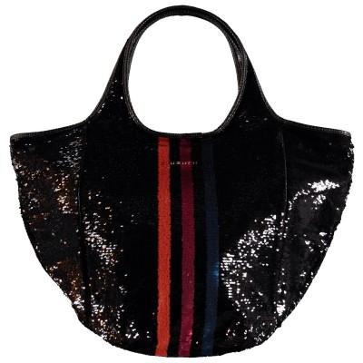 Picture of UZURII SHOULDERBAG COLORSTRIPE women bag black