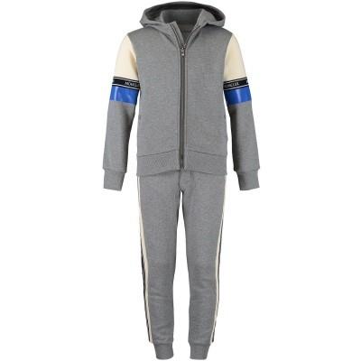 Afbeelding van Moncler 8810750 kinder joggingpak grijs