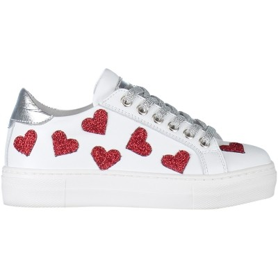 Picture of Miss Grant S3SN0046 kids sneaker white