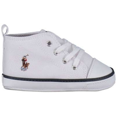 Picture of Polo Ralph Lauren RL10022 baby sneaker white