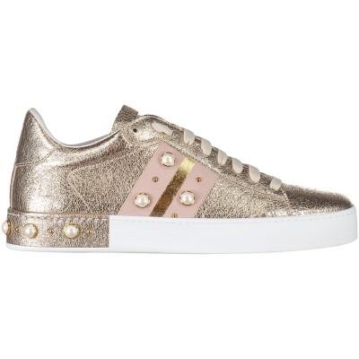 Picture of Stokton 751D women sneaker gold