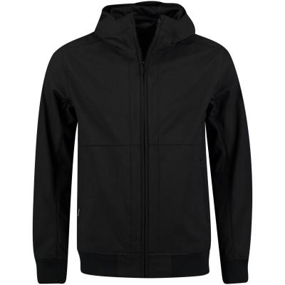 Picture of Airforce HR81M0248 men jacket black