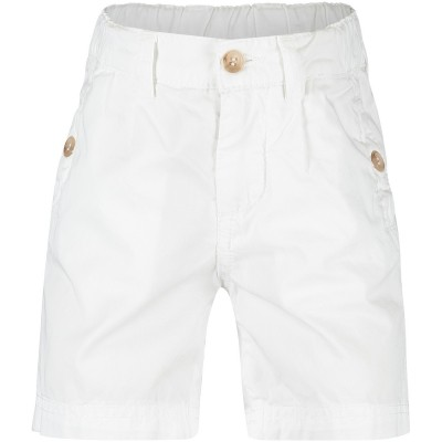 Picture of Dolce & Gabbana L12Q02 Joggingshort white