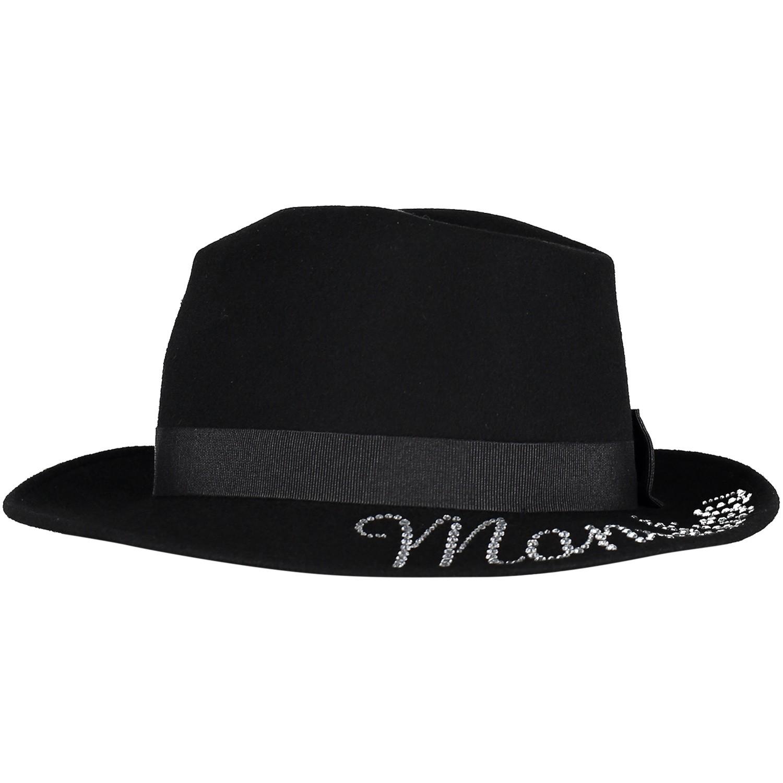 Picture of MonnaLisa 492013 kids hat black