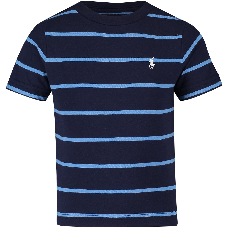Afbeelding van Polo Ralph Lauren 321682635 kinder t-shirt navy