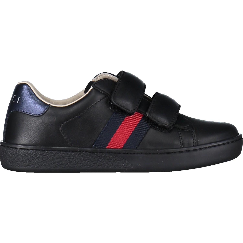 Afbeelding van Gucci 455448 kindersneaker zwart