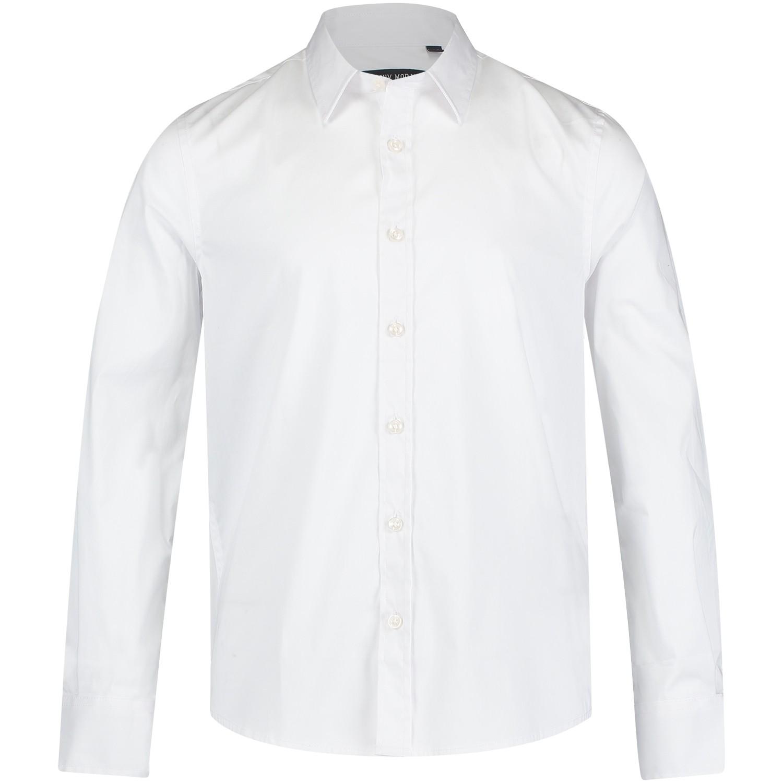 Afbeelding van Antony Morato MKSL00088 kinder overhemd wit