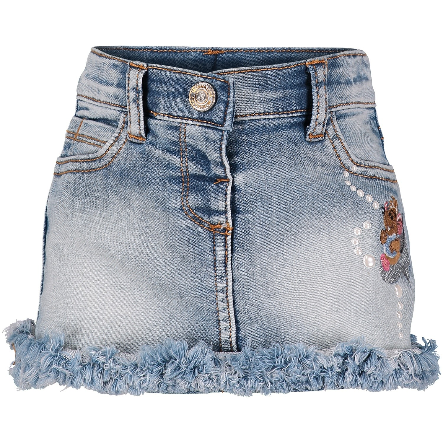 Picture of MonnaLisa 392705 baby skirt jeans