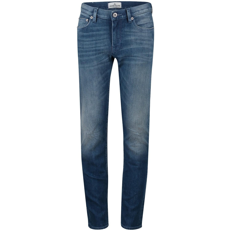 Afbeelding van Stone Island 6816J3220 kinder jeans jeans