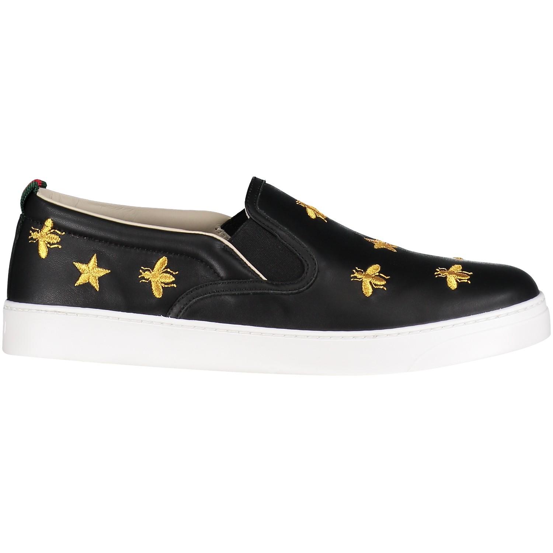 Afbeelding van Gucci 504497 kindersneakers zwart
