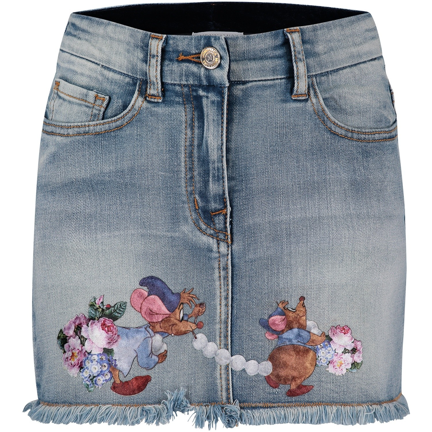 Picture of MonnaLisa 192702SD kids skirt jeans