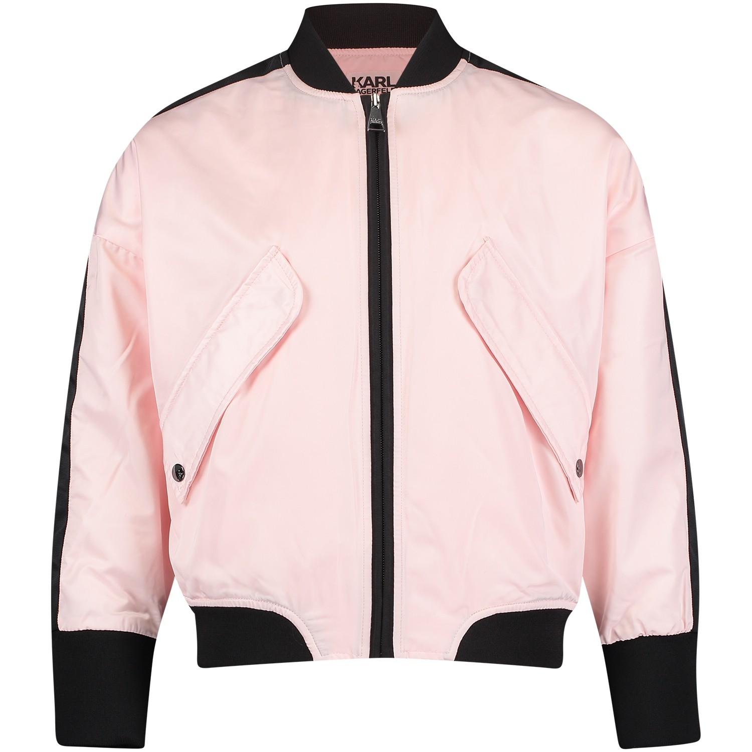 Picture of Karl Lagerfeld Z16047 kids jackets light pink