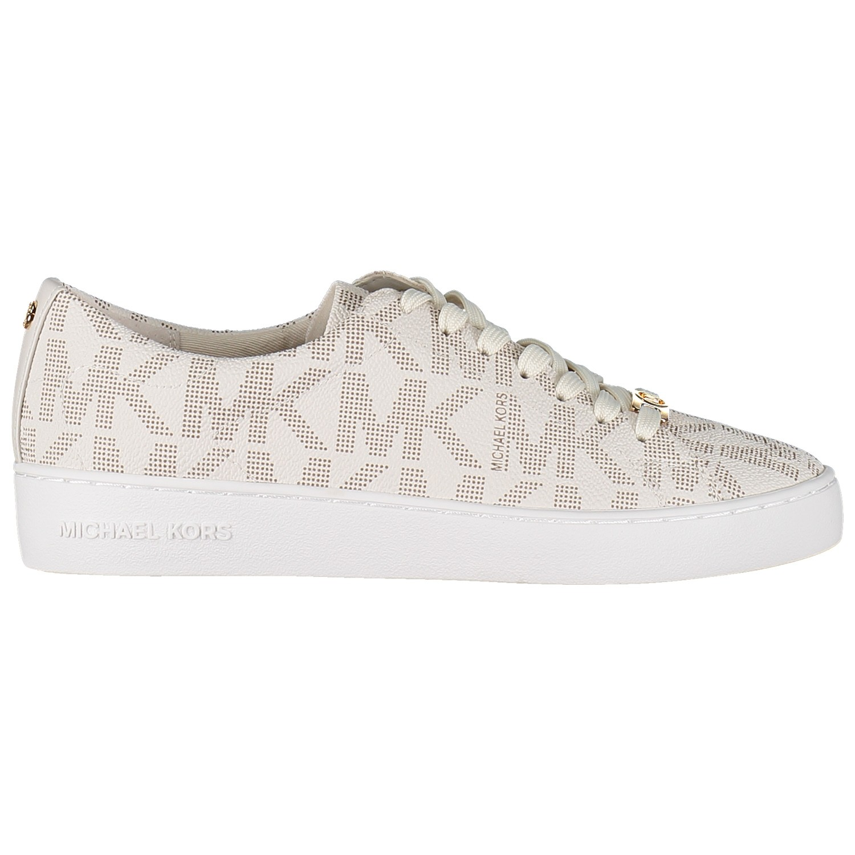 Picture of Michael Kors MK KEATON LOGO dames sneaker off white