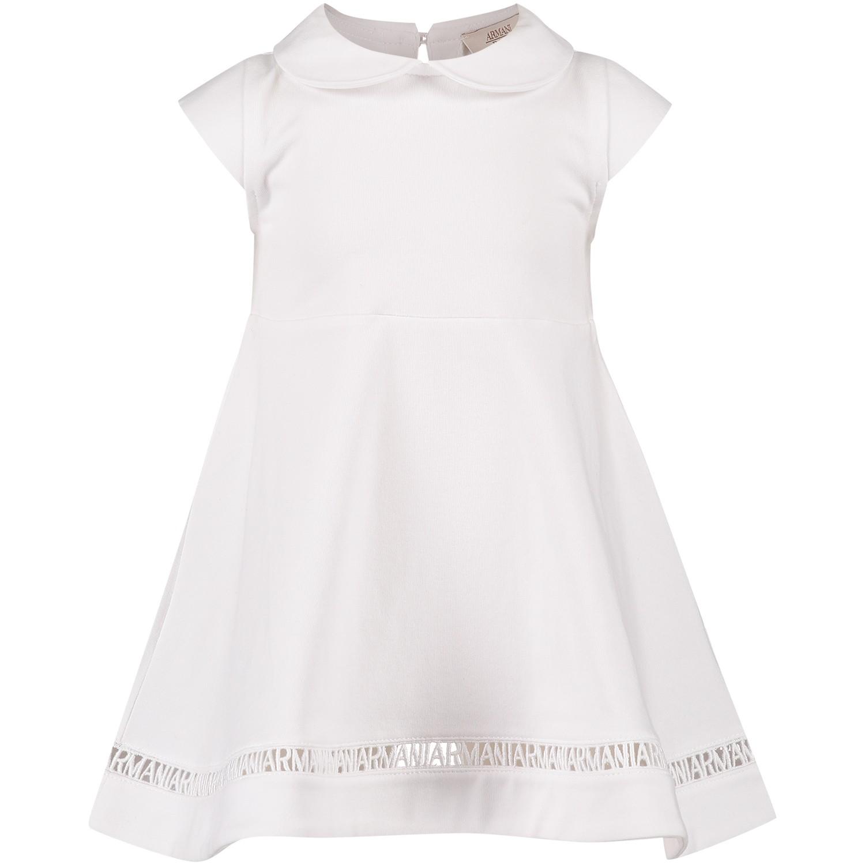 Afbeelding van Armani 3ZEA02 baby jurkje wit