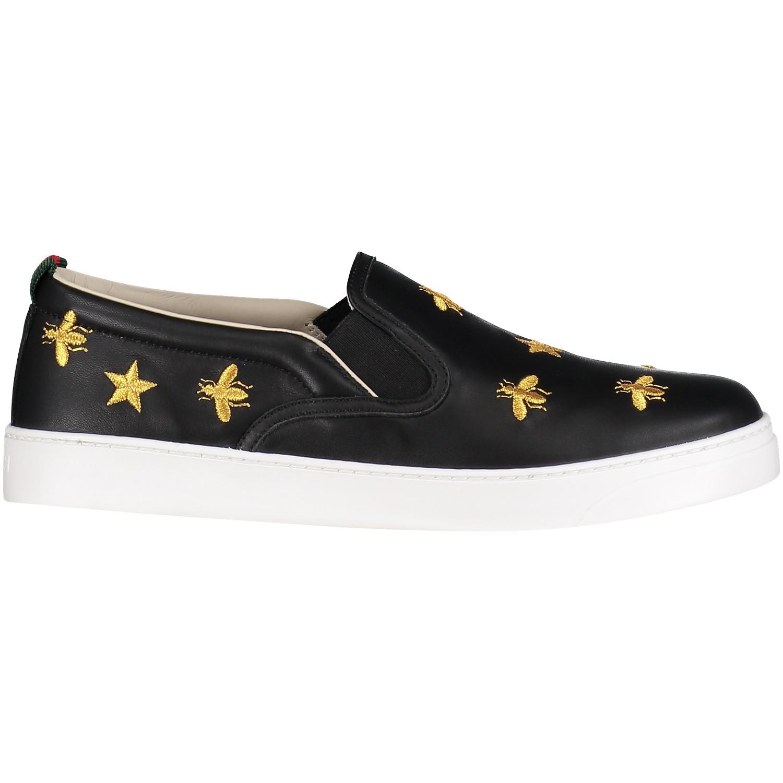 Afbeelding van Gucci 508789 kindersneakers zwart