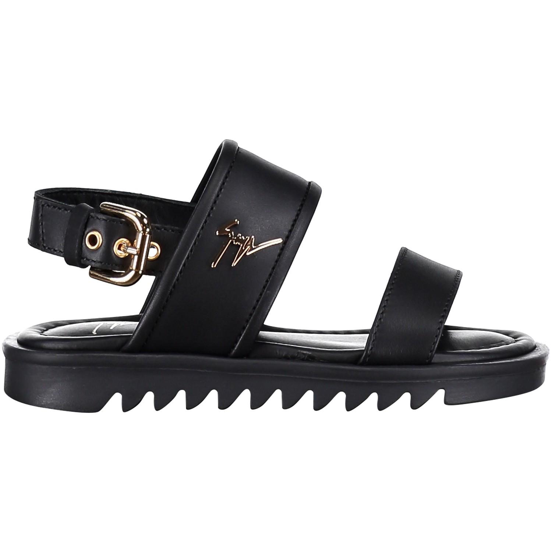 Afbeelding van Giuseppe Zanotti SBE8109001 kinder sandalen zwart