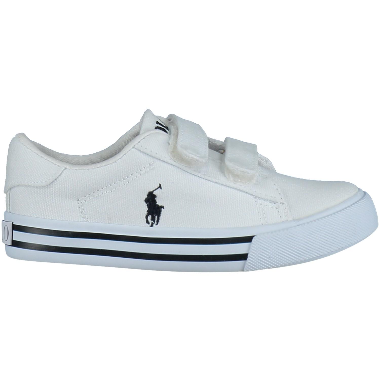Afbeelding van Polo Ralph Lauren RF100876 kindersneakers wit