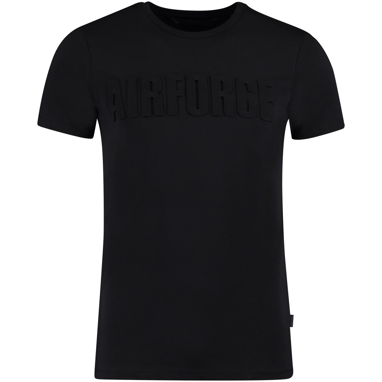 Afbeelding van Airforce TB81M0276 heren t-shirt zwart
