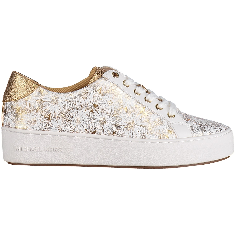 Afbeelding van Michael Kors 43S8POFS1W dames sneakers goud