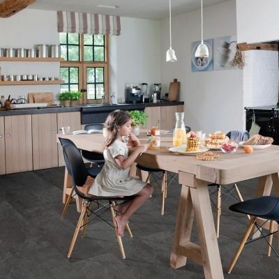 Foto van Quick-Step Ambient Glue Plus Leisteen Zwart AMGP40035