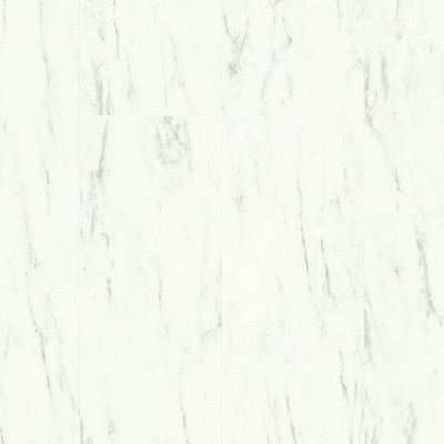 Quick-Step Ambient Click Plus Carrara Marmer Wit AMCP40136