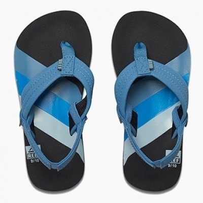 Reef jongens slipper Ahi 70s blue