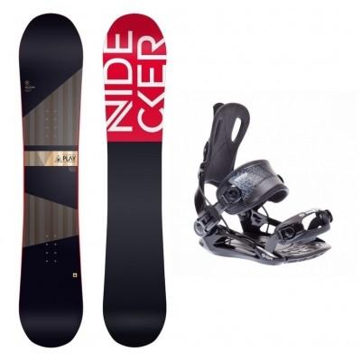 Complete snowboardset Play+SP FT270 bindingen
