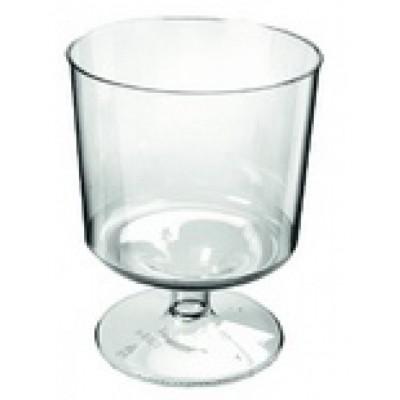 Plastic wijnglazen, prijs op aanvraag