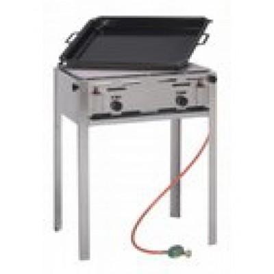 Foto van Bakplaat voor op een barbecue 70 x 55 cm. Dit betreft alleen de bakplaat.