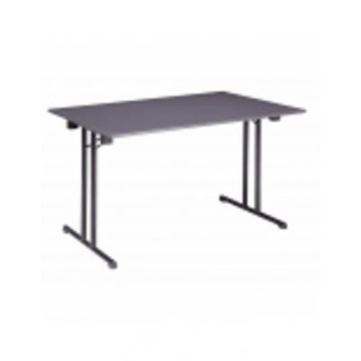 Klaptafels tafel 120 x 80 cm antraciet