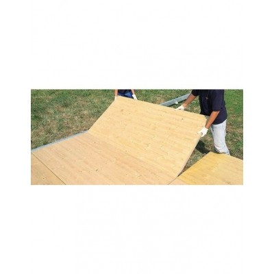 Casstettevloer voor pagodetent 5 x 5 meter