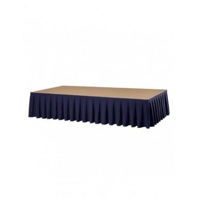 Podiumrok blauw (6 meter)
