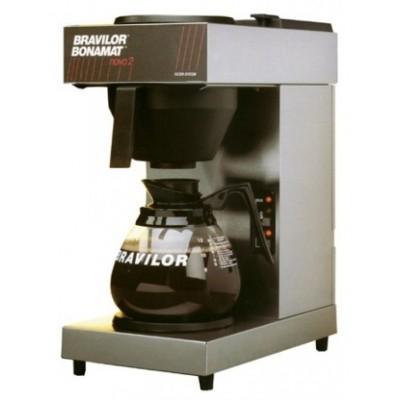 Foto van Koffiemachine met 2 kannen