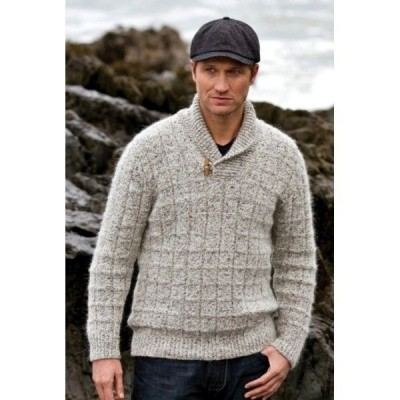 Fisherman out of Ireland Marble Shawl Collar