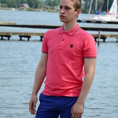 Foto van Refrigiwear Polo Stech roze