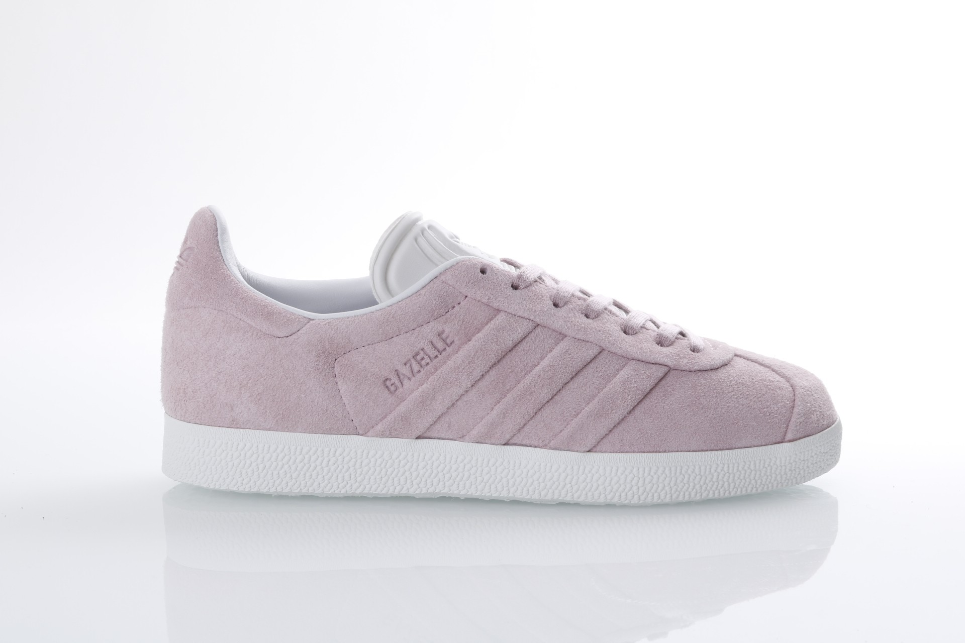 Foto van Adidas Originals BB6708 Sneakers Gazelle stitch and turn Roze