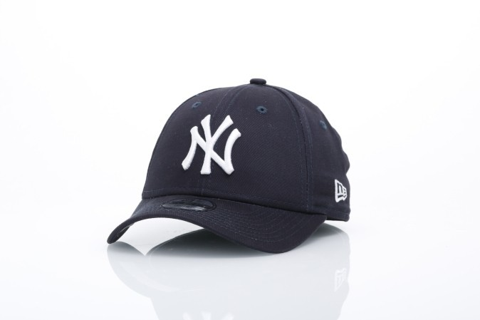 Foto van New Era Kids 10877283 Dad cap 940 MLB league basic NY Yankees Blauw