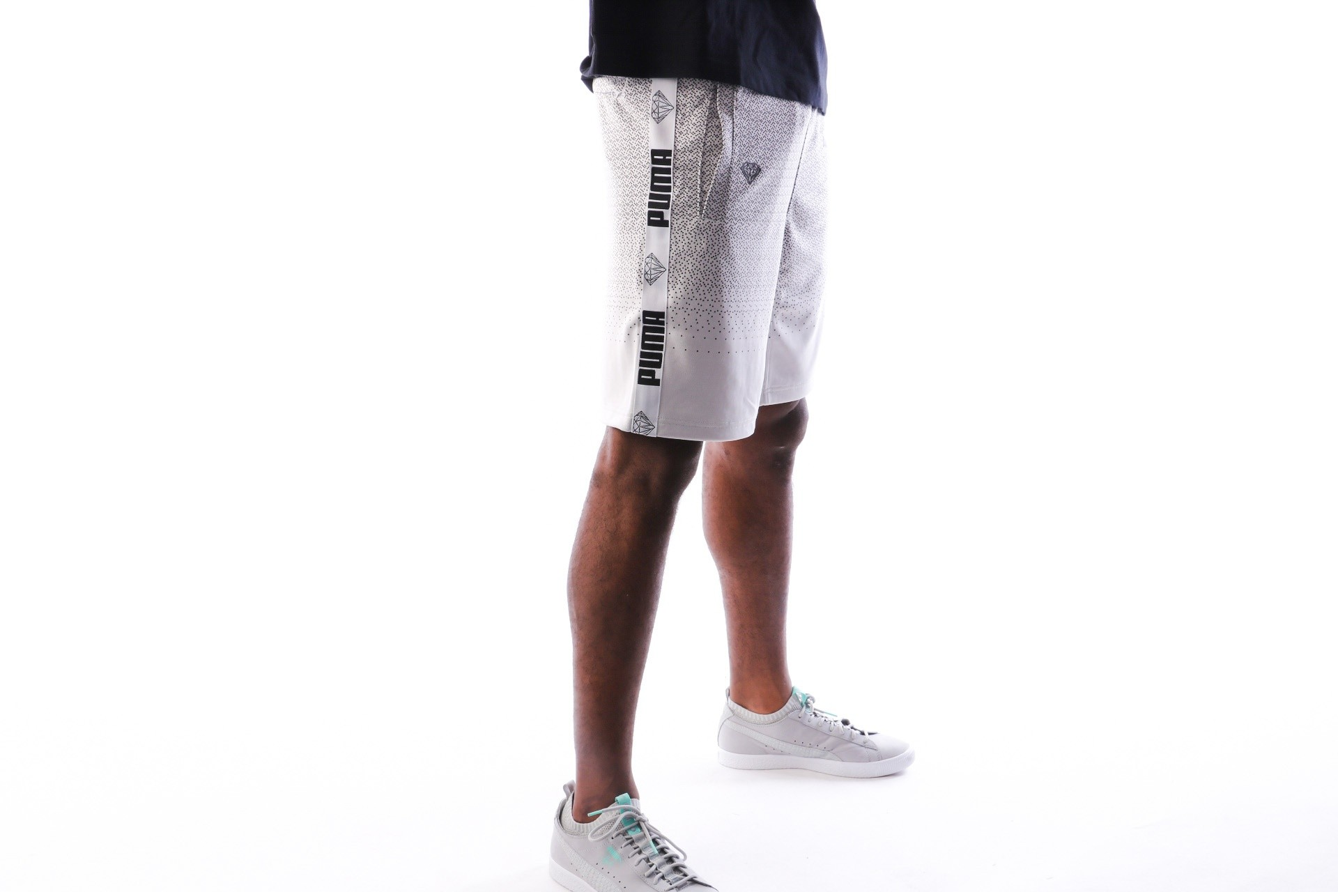 Foto van Puma PUMA x DIAMOND Shorts 575363 korte broek Puma White