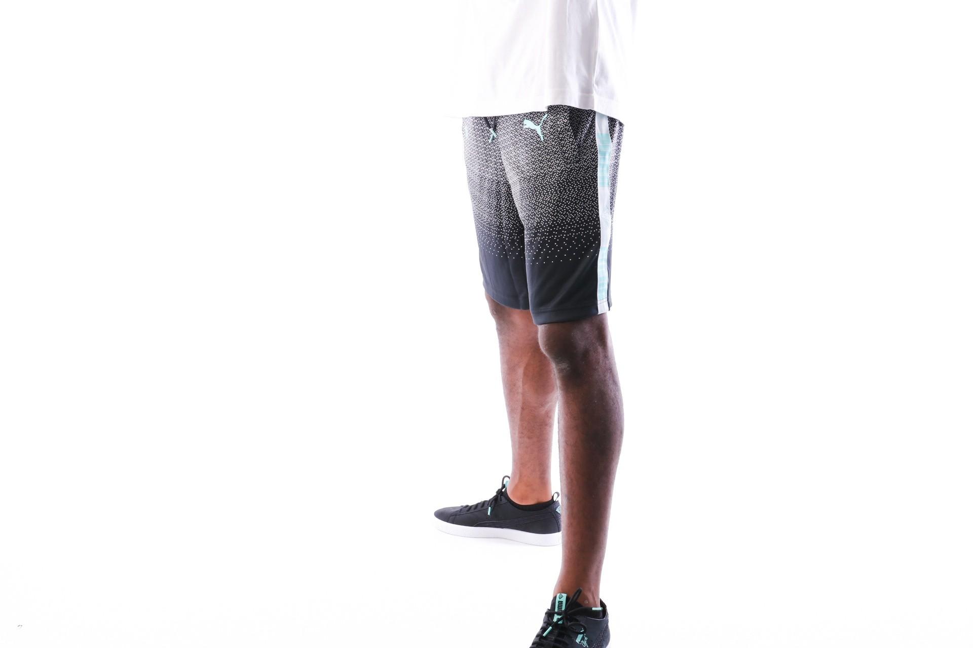 Foto van Puma PUMA x DIAMOND Shorts 575363 korte broek Puma Black