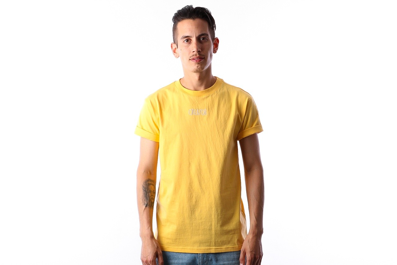Foto van Instinct One Creator IO-18006 T-shirt Yellow