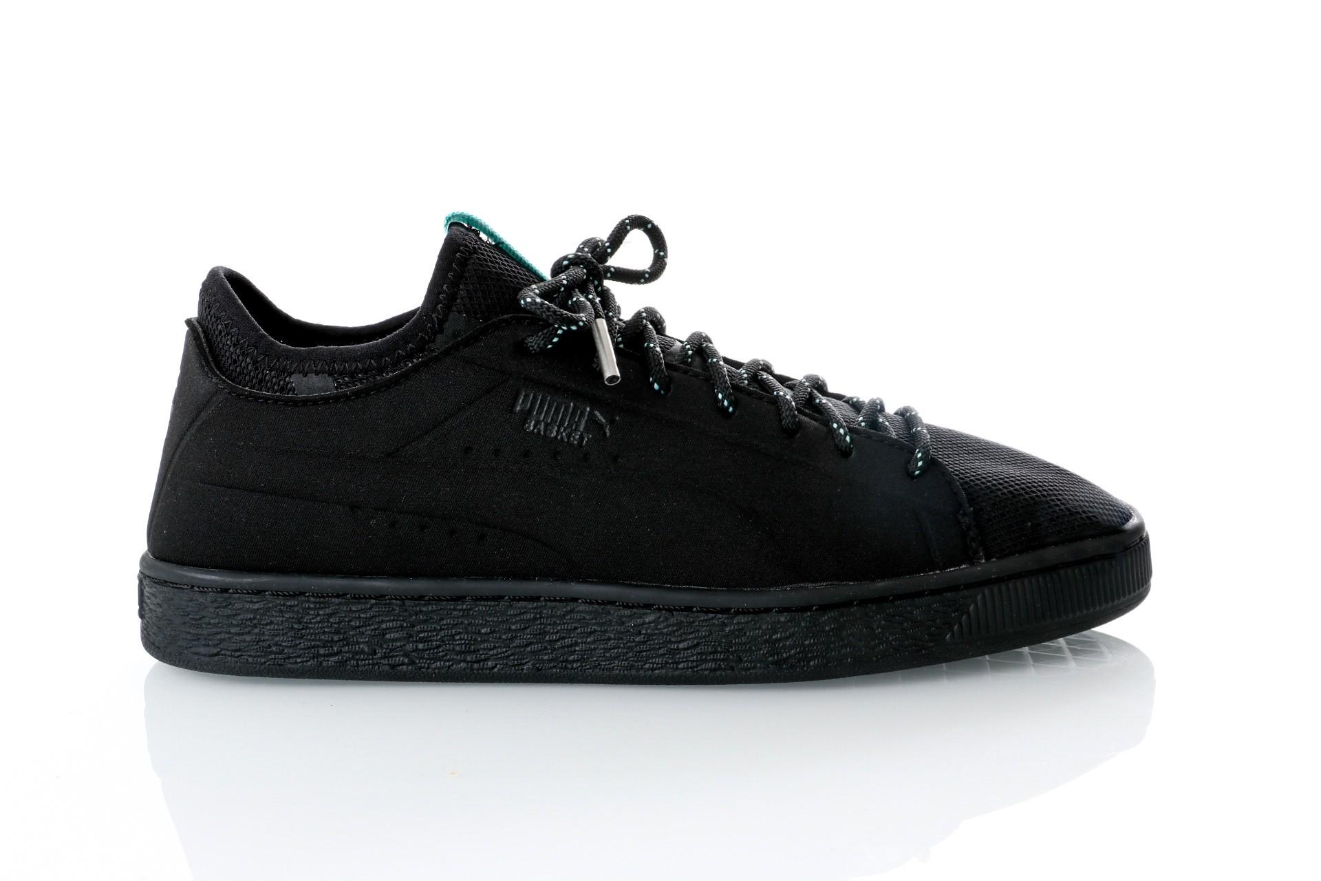 Foto van Puma Basket Sock Lo DIAMOND 366431 sneakers puma black