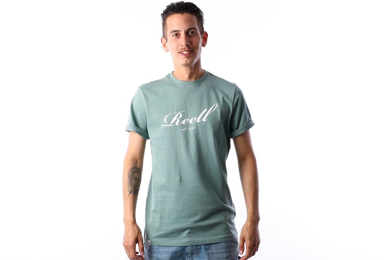 Afbeelding van Reell T-shirt Big script Groen