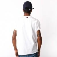 Afbeelding van Tommy Jeans 90s Logo Tee T-shirt Bright White DM0DM05234-113