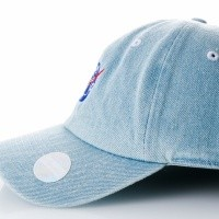 Afbeelding van Ethos Space KBSV-036 light denim KBSV-036 dad cap light denim