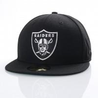 Afbeelding van New Era 80536530 Fitted cap NFL classic 5950 Oakland Raiders Official team colors